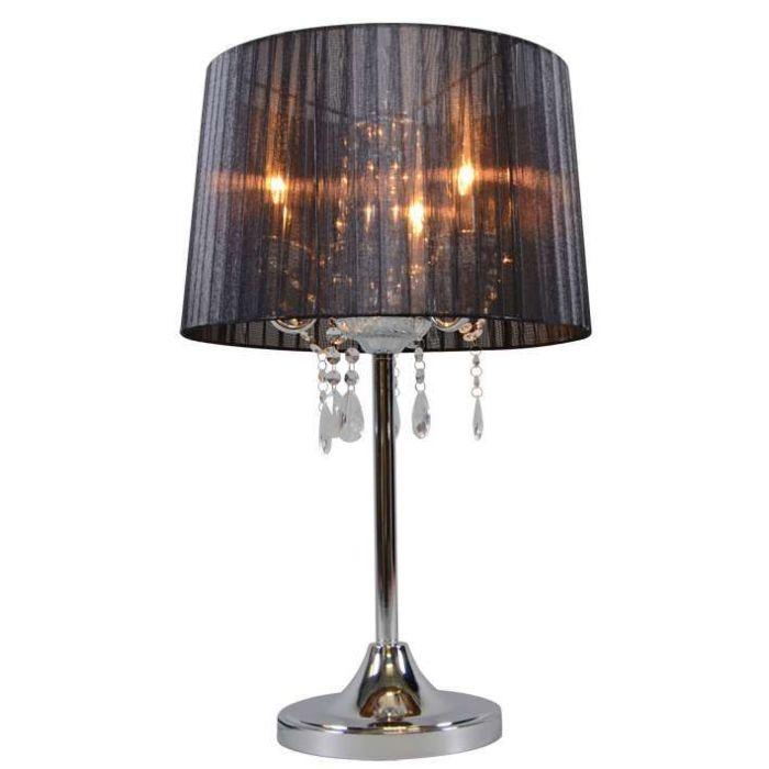 Klasyczna-lampa-stołowa-chrom-czarny-klosz---Ann-Kathrin-3