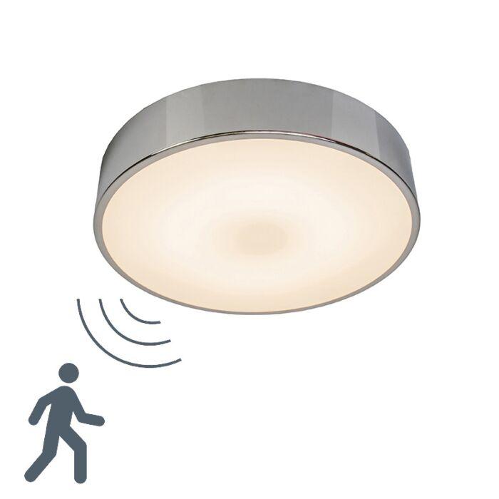 Plafon-Motion-II-LED-aluminium-z-mikrofalowym-czujnikiem-ruchu