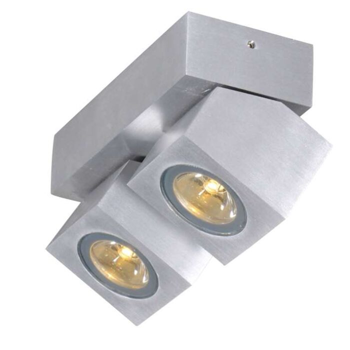 Spot-Rhodium-2-LED-aluminium