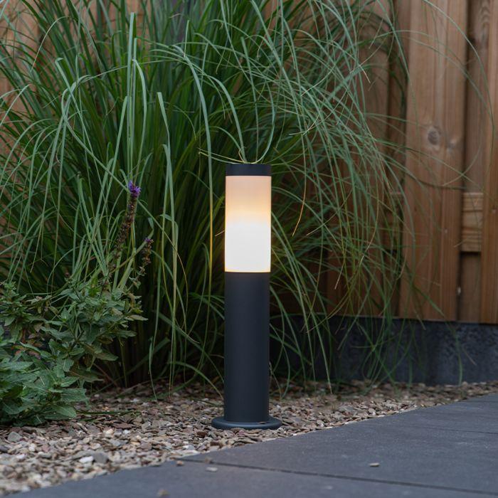 Lampa-zewnętrzna-antracyt-45cm-IP44---Rox