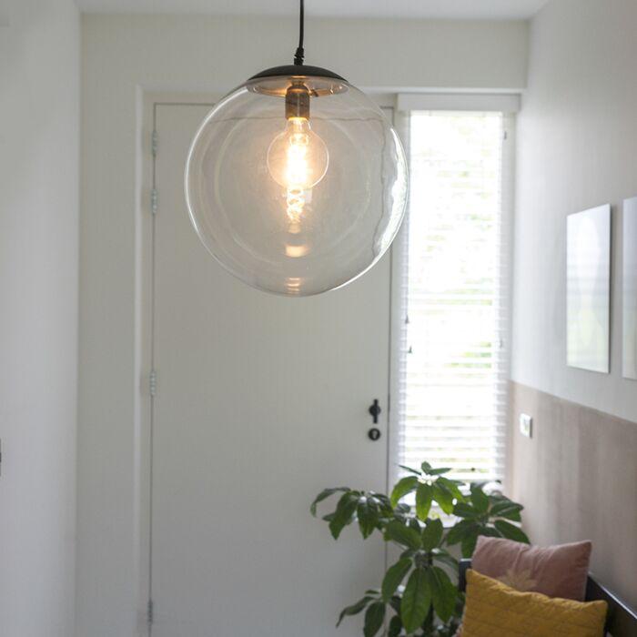 Nowoczesna-lampa-wisząca-przezroczysta-35cm---Pallon