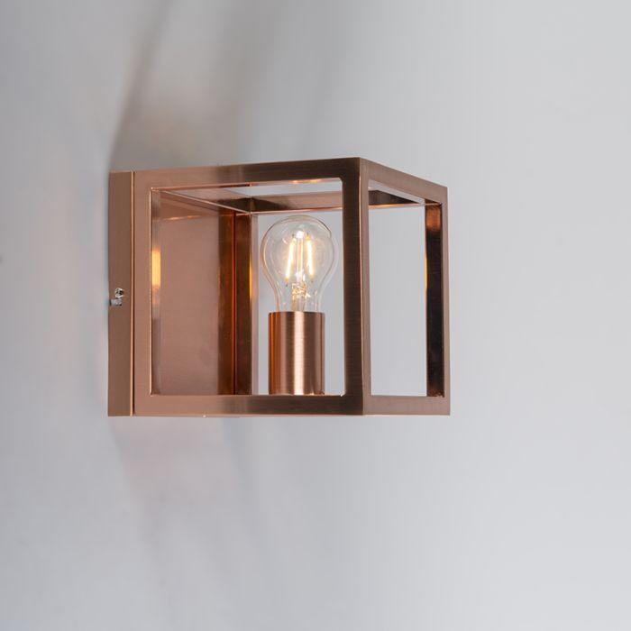 Kinkiet-Cage-1-lampa-miedziana