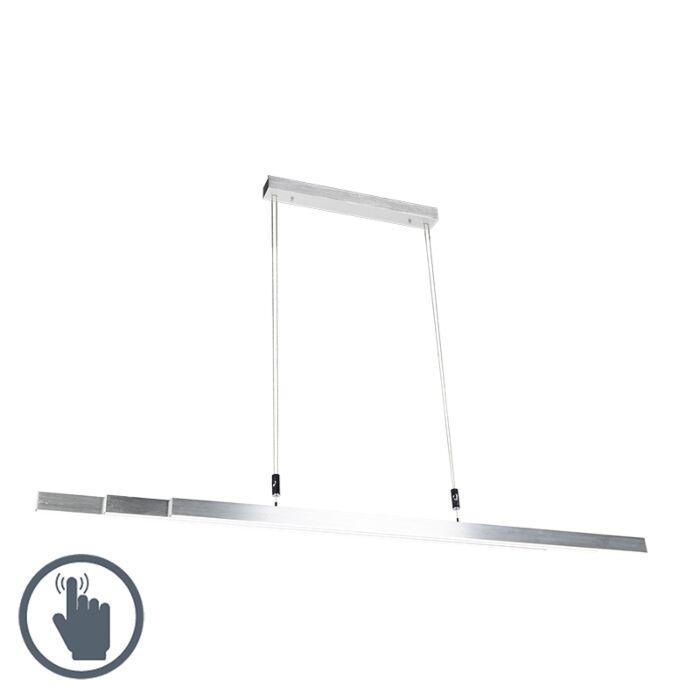 Nowoczesna-lampa-wisząca-aluminium-14W-LED---Plazas-3