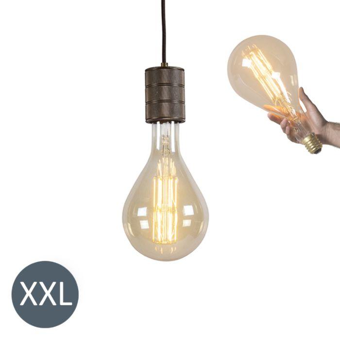 Lampa-wisząca-Splash-ze-ściemnianą-żarówką-LED