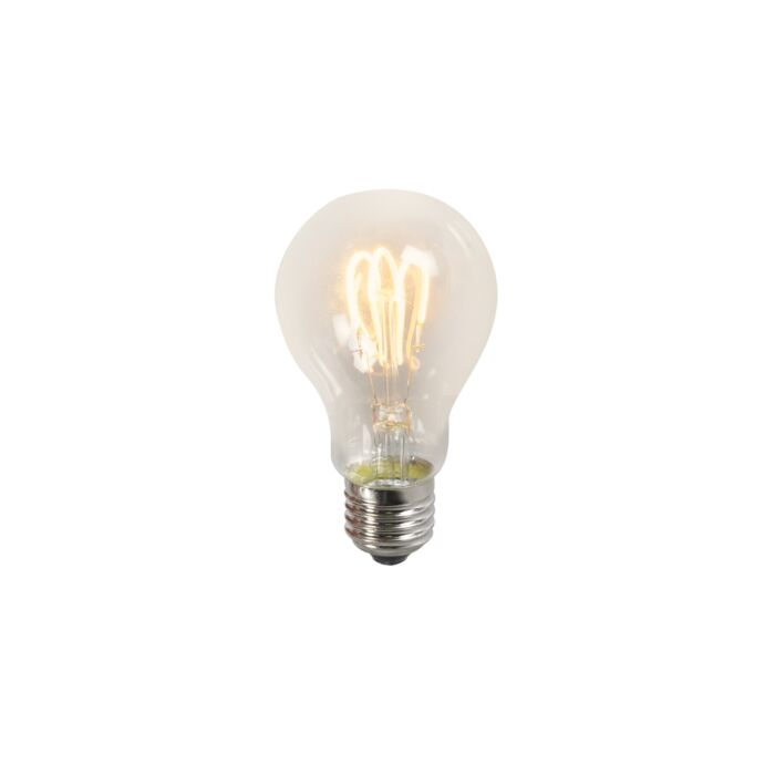 Żarówka-LED-skręcona-A60-3W-2200K-przezroczysta