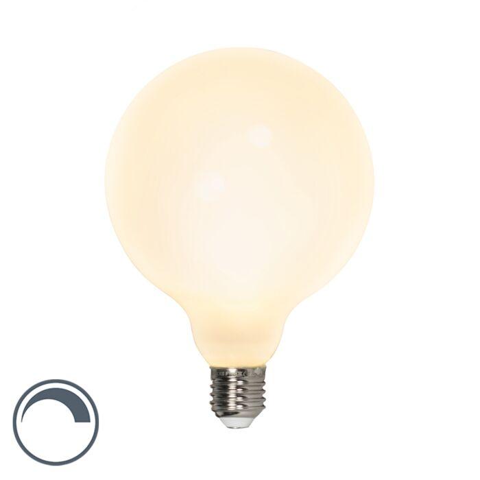 Żarówka-LED-E27-G125-8W-900lm-2700-K-ściemnialna