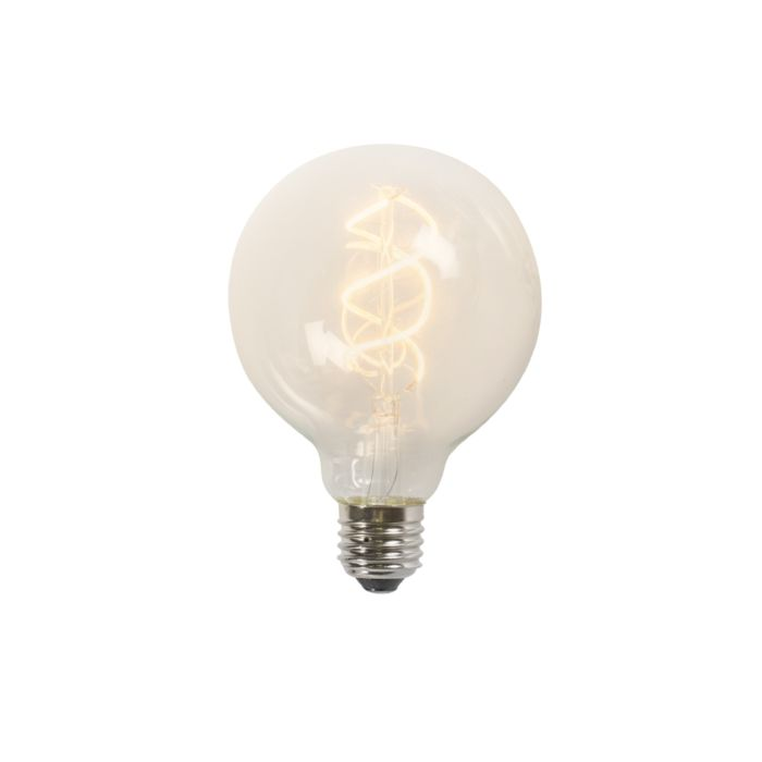 Żarówka-LED-E27-filament-G95-5W-300lm-2200K-przezroczysta