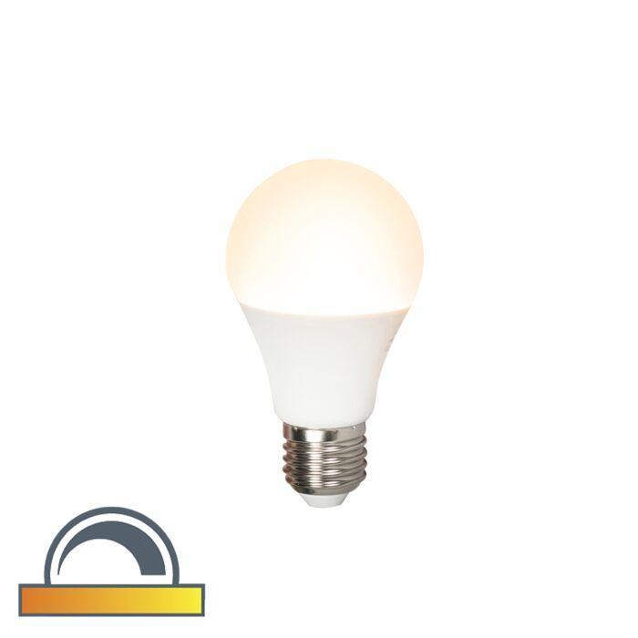 Żarówka-LED-E27-A60-7W-510lm-2000K-2700K-ściemnialna