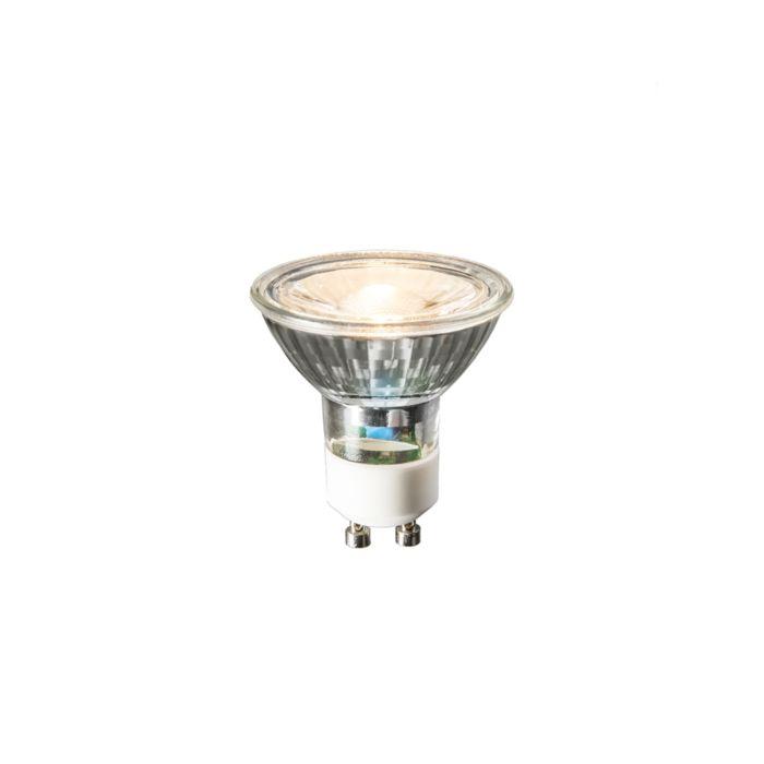 Żarówka-GU10-LED-240V-3W-230lm-ciapło-biała