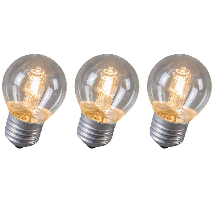 Zestaw-3-żarówek-halogenowych-kula-E27-28W