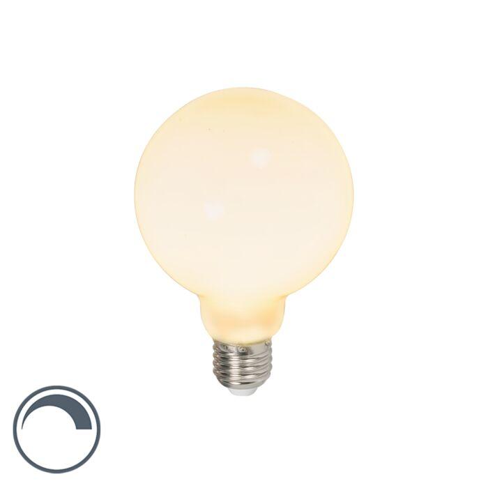 Żarówka-kula-LED-E27-G95-6W-650lm-2700K-ściemnialna