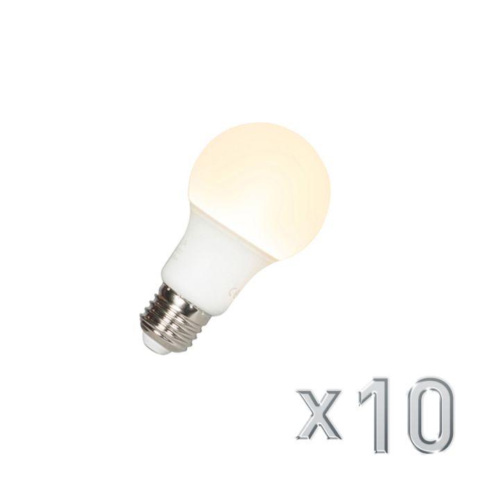 Zestaw-10-żarówek-LED-A60-E27-9W-3000K