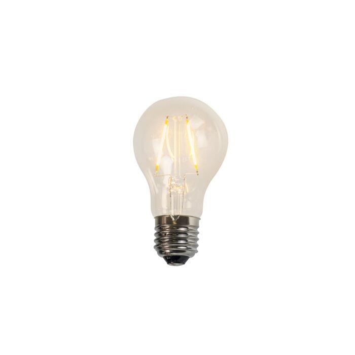 Żarówka-LED-E27-filament-A60-2W-2200K-przezroczysta
