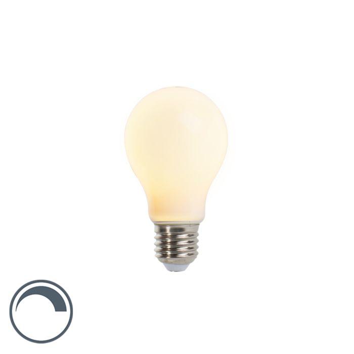 Żarówka-E27-A60-matowa-5W-410lm-ściemnialna