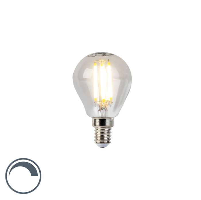 Żarówka-LED-E14-filament-kulka-5W-470-lm-P45-ściemnialna