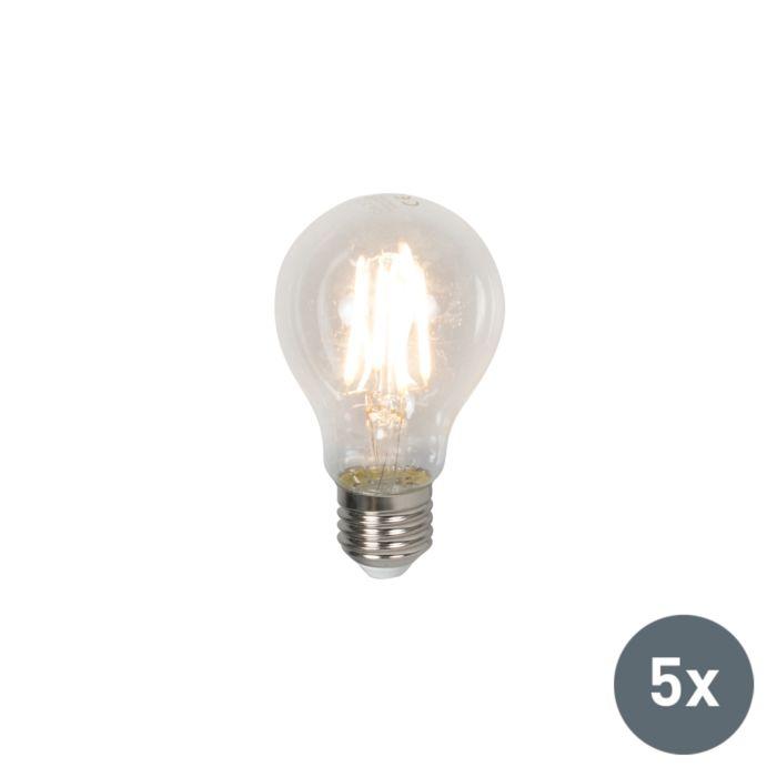 Zestaw-5-żarówek-LED-E27-4W-400-lumenów-ciepło-biała