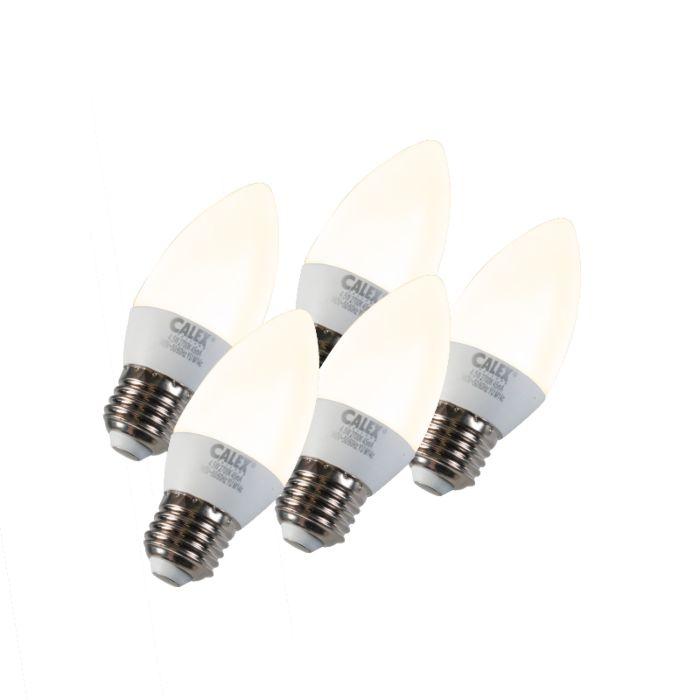 Zestaw-5-żarówek-LED-E27-5W-240V-2700K-ściemniana