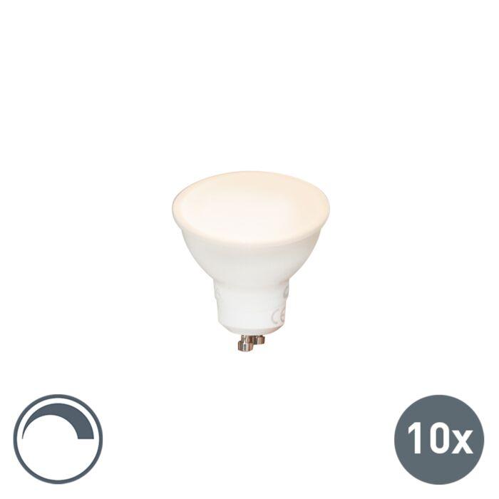 Zestaw-10-żarówek-GU10-240V-6,5W-450lm-ściemnialna