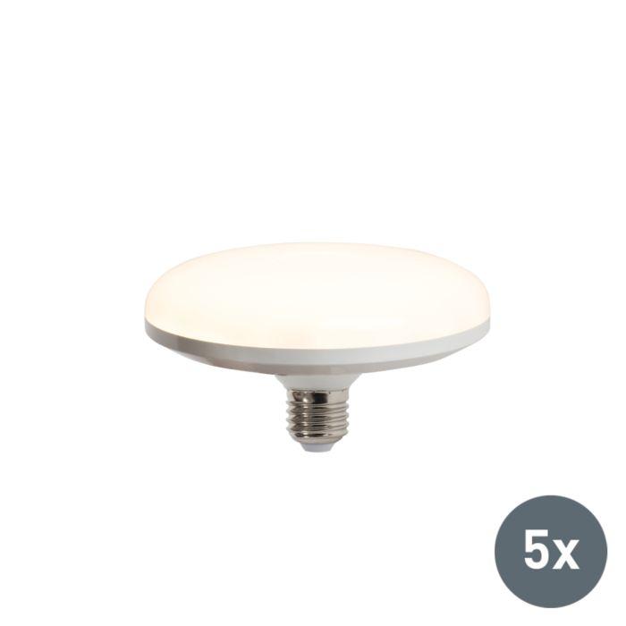 Zestaw-5-żarówek-UFO-LED-E27-18W-ciepło-biała