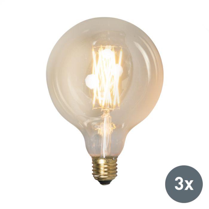 Zestaw-3-żarówek-LED-E27-ściemnialna-4W-320-lumenów