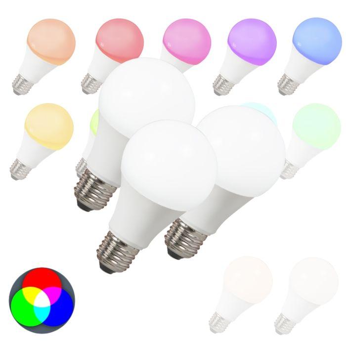 Zestaw-3-żarówek-LED-E27-240V-7W-500lm-A60-Smart-Light