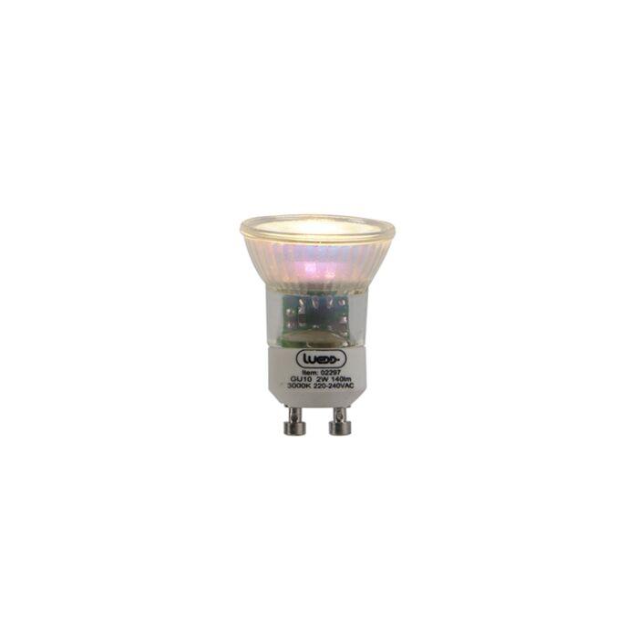Żarówka-LED-GU10-2W-140-lumenów-3000K-ciepło-biała-35mm