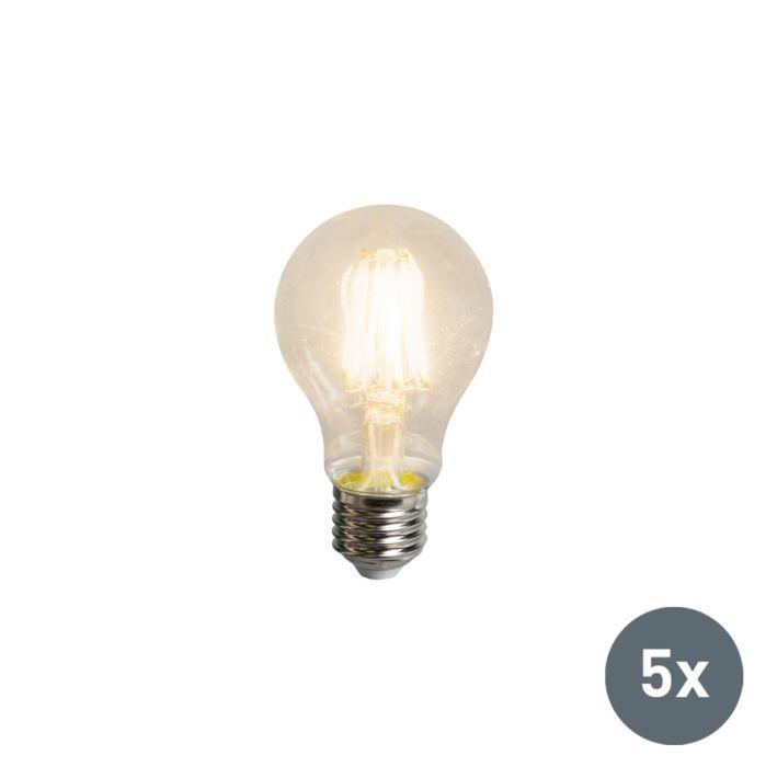 Zestaw-5-żarówek-LED-filament-z-żarnikiem-A60-E27-5.5W-600-lumenów