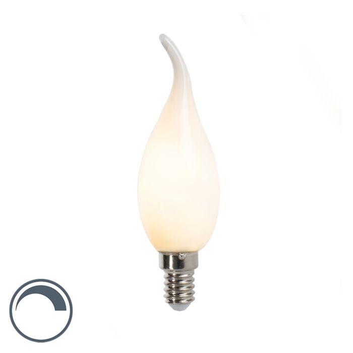 Żarówka-świeczka-LED-E14-3W-250lm-F35-ściemnialna
