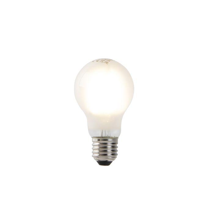 Żarówka-LED-A60-E27-4W-2700K-matowa-filament