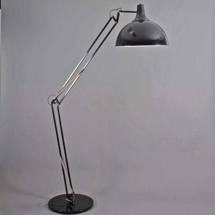Lampa-w-kształcie-łuku-Hobby-XXL-czarna