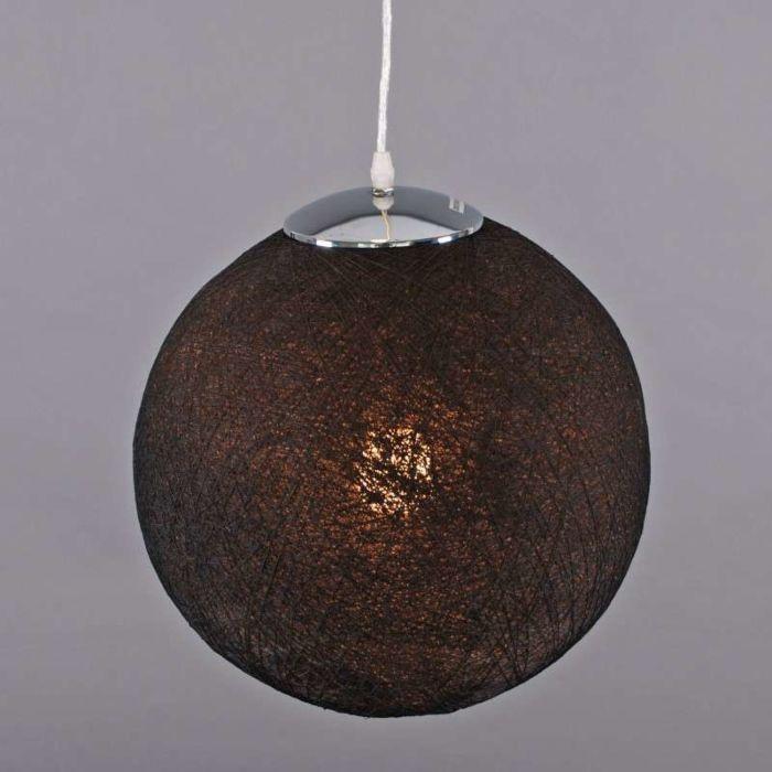 Lampa-wisząca-Hemp-35-czarna