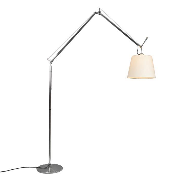 Artemide-lampa-podłogowa-aluminiowa-z-kloszem---Artemide-Tolomeo-Mega-Terra