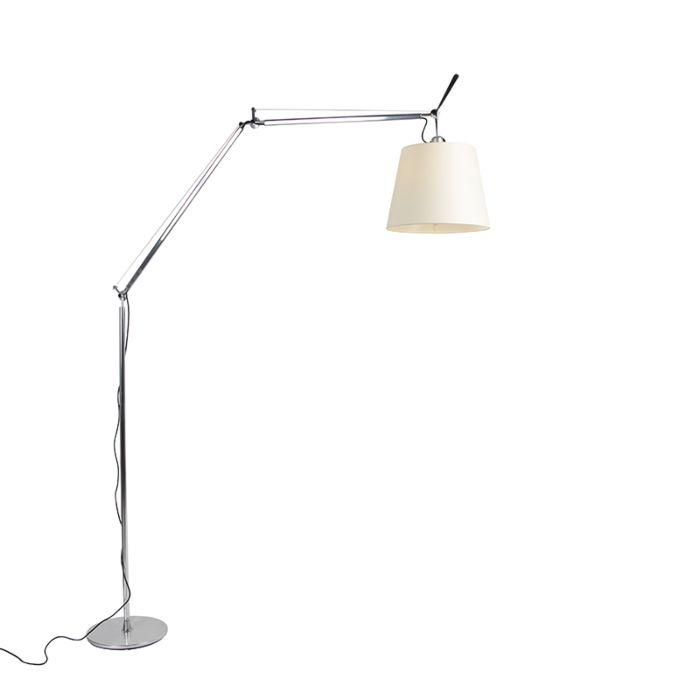 Lampa-podłogowa-aluminium---Artemide-Tolomeo-Mega-Terra