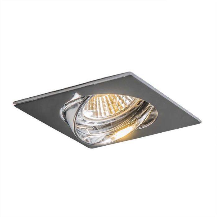 Oprawa-do-wbudowania-Edu-LED-kwadrawtowa-ruchoma-chrom