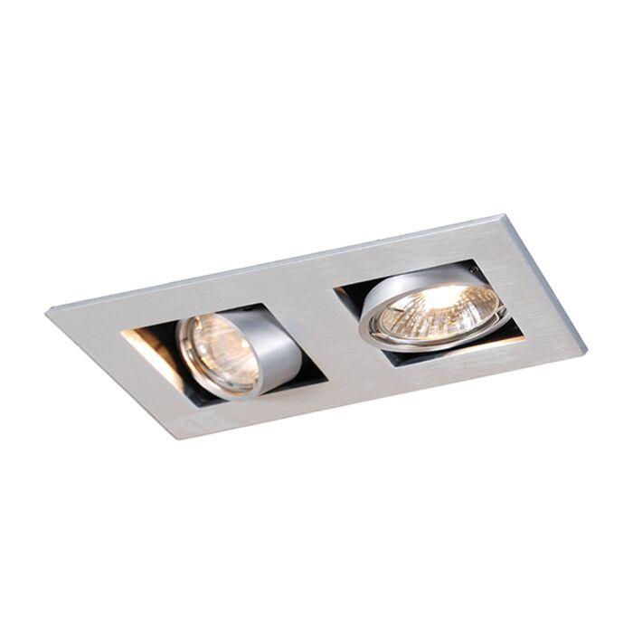 Oprawa-do-wbudowania-prostokątna-aluminium-2-źródła-światła---Qure