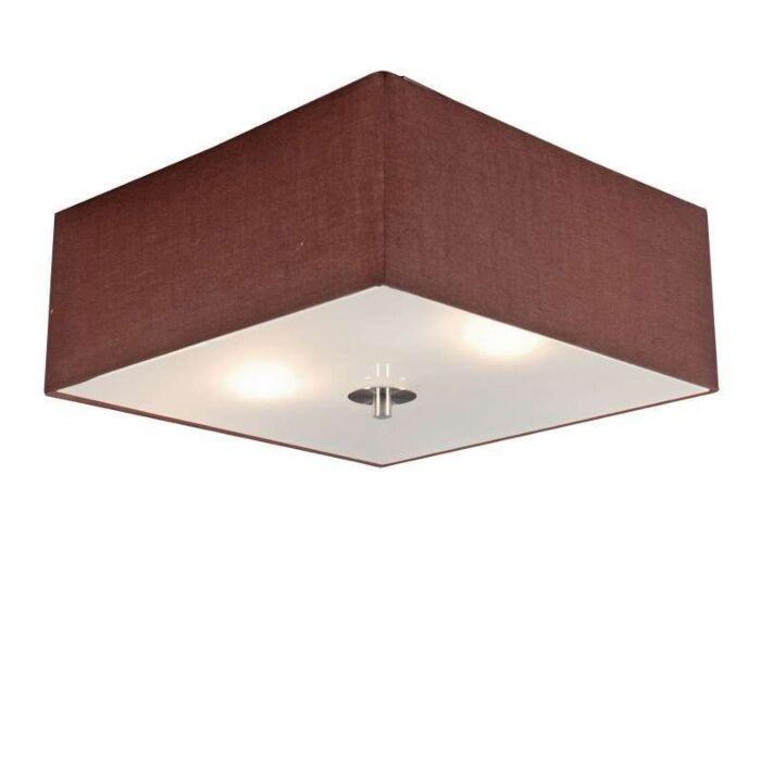 Plafon-Drum-35-kwadratowy-brązowy