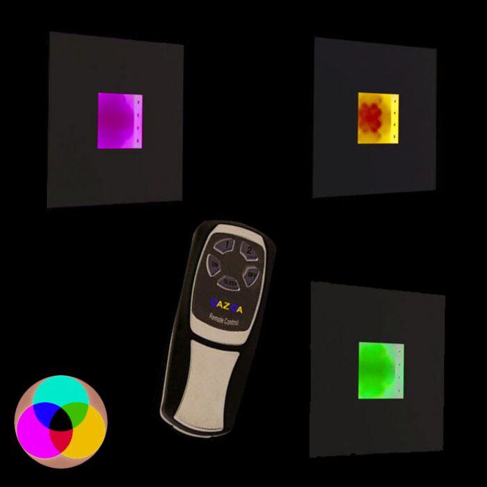 Kinkiet-płytka-RGB-LED-biały