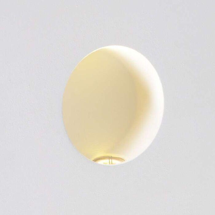 Oprawa-do-wbudowania-Zero-okrągła-LED-ścienna