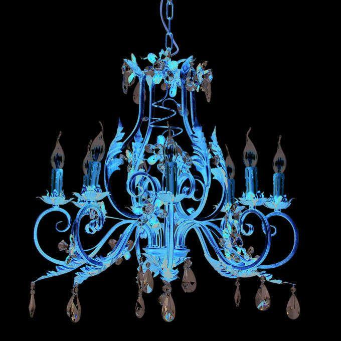 Żyrandol-Sissy-8-źródeł-światła-antyczne-złoto