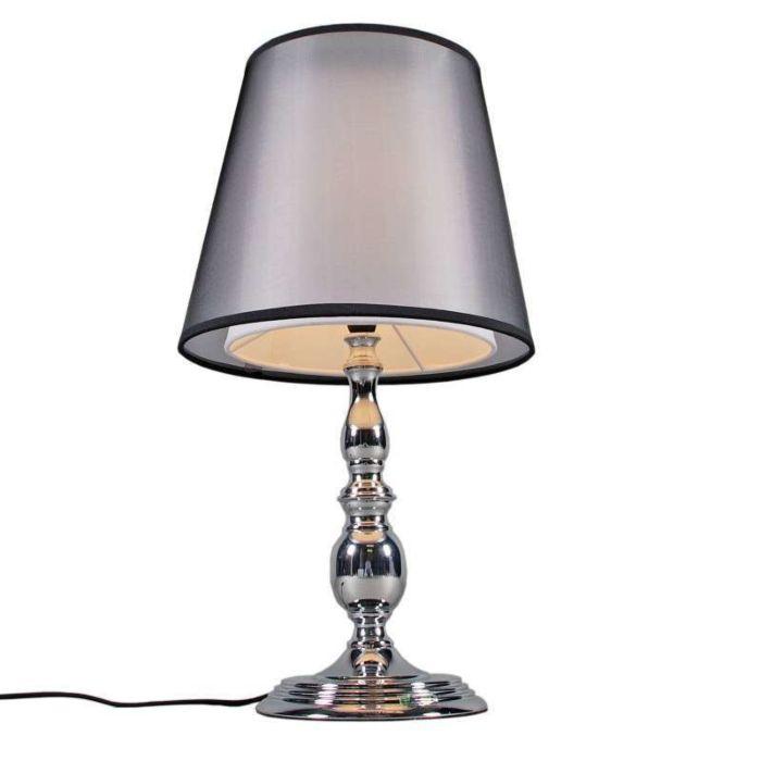 Lampa-stołowa-Mythos-chrom-z-kloszem