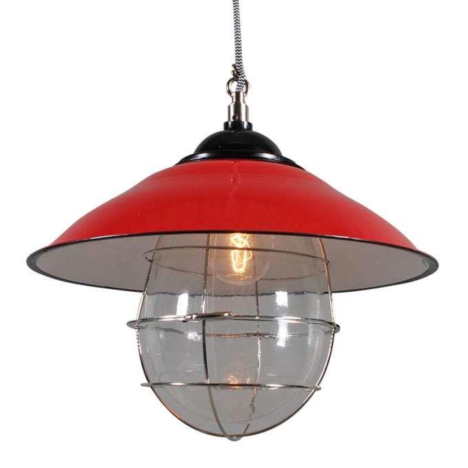 Lampa-wisząca-Skipper-czerwona