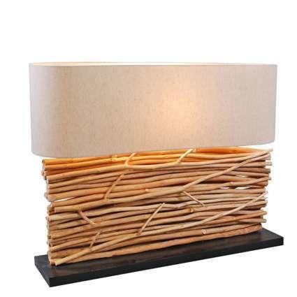 Lampa-stołowa-Maha-z-lnianym-kloszem