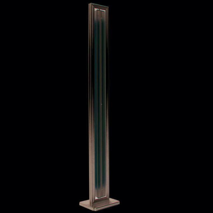 Lampa-podłogowa-Tube-prostokątna-srebrna-2-x-35W