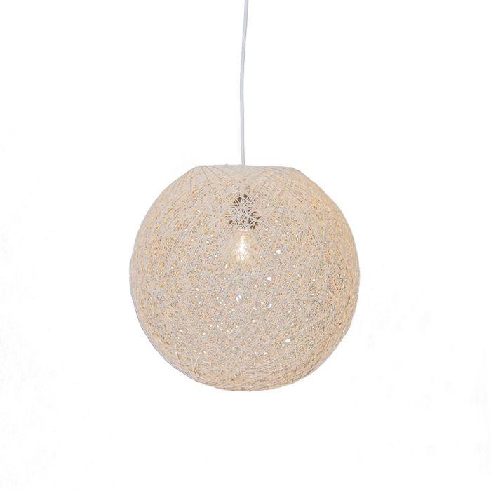 Lampa-wisząca-biała-35-cm---Corda