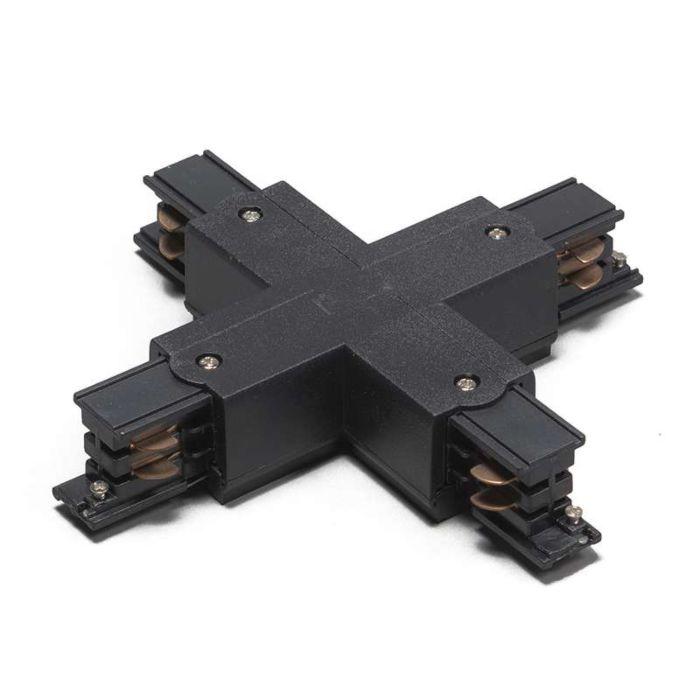 Łącznik-X-dla-3-fazowych-szyn,-czarny