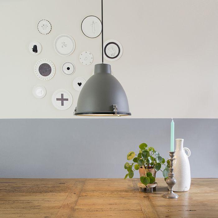 Przemysłowa-lampa-wisząca-brązowa-38-cm---Anteros