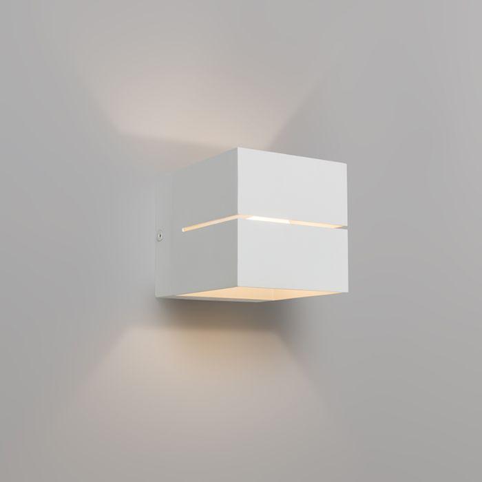 Nowoczesna-lampa-ścienna-biała---Transfer-2