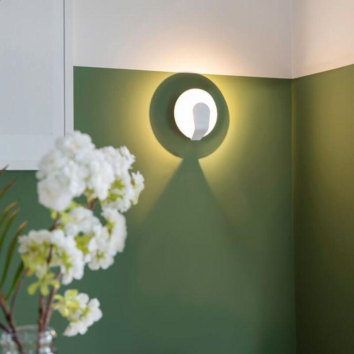 Lampa-ścienna-Sole-15-biała