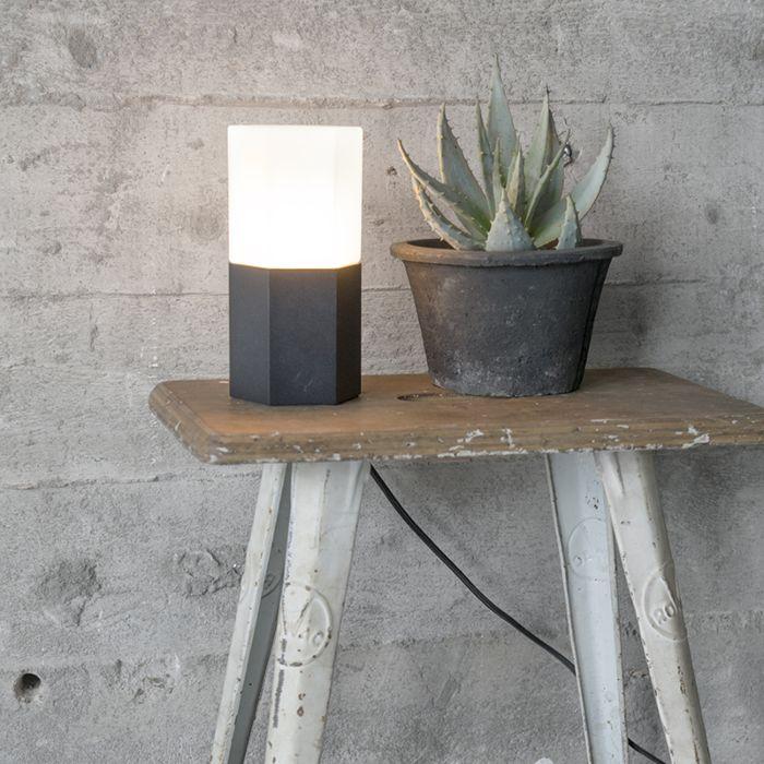 Lampa-stołowa-Hexagon-czarna