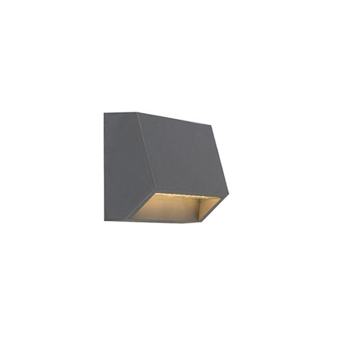 Nowoczesny-kinkiet-zewnętrzny-ciemnoszary-LED-IP54---Sandstone-1